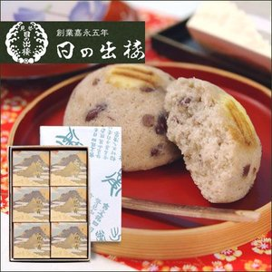 和風蒸し菓子 文化の森 6入|tokushima-shop