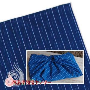 阿波しじら織 風呂敷(ふろしき)紺縞【母の日】【敬老の日】 tokushima-shop