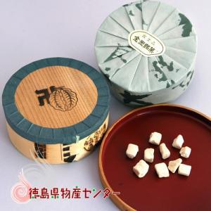 和三盆《霰三盆》100g曲物入 干菓子/砂糖/お茶請け/徳島名産/内祝い|tokushima-shop