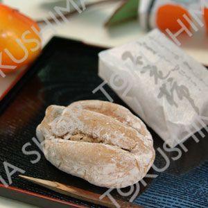 和風焼菓子 不老柿(不老がき) 15入 【徳島の老舗菓子店の銘菓】|tokushima-shop