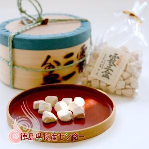 和三盆《霰三盆》300g曲物入 干菓子/砂糖/お茶請け/徳島名産/内祝い|tokushima-shop