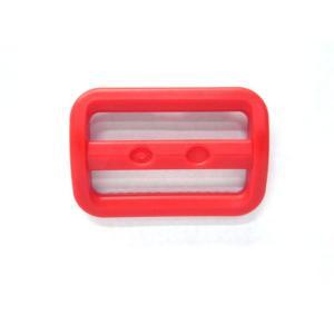YKK LA38S プラスチック アジャスター 赤 38mm巾用 ベルトの長さ調節などに