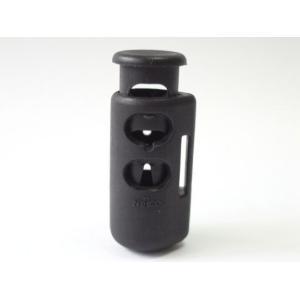 NIFCO ニフコ CL7 プラスチック コードストッパー 直径約5mm用 2つ穴,ベルトループタイプ コード、紐、ゴムの長さ調節などに