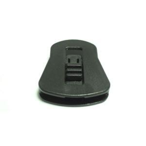 YKK  LC05WF プラスチック コードストッパー  直径約3mm用 2つ穴  コード、紐、ゴムの長さ調節などに|tokushu-sozai