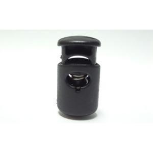 Due emme F1 プラスチック コードストッパー  直径約5mm用  1つ穴タイプ  コード、紐、ゴムの長さ調節などに|tokushu-sozai