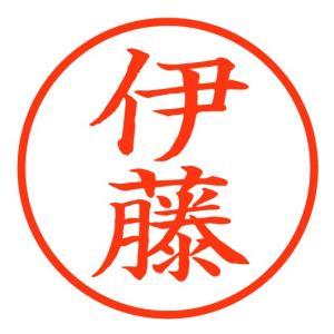 「伊藤」スマート印鑑 世界最薄の携帯印鑑 100-0005|tokushu-sozai