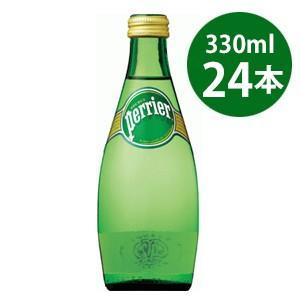 サントリーフーズ ペリエ 炭酸水 瓶 330ml 正規輸入品 24本セット|tokutokutokiwa
