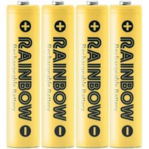充電池 BPS RAINBOW 単4形充電池 ニッケル水素充電池(900mAh)BPS-4NIJI ...