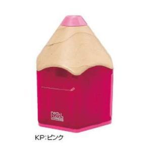 Nakabayashi(ナカバヤシ) 電動鉛筆削り機 えんぴつタイプ ピンク DPS-311KP|tokutokutokiwa