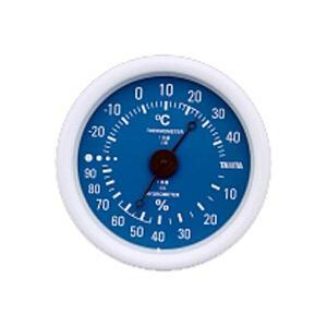 ■カラフルデザイン  ■小さいサイズで場所をとらない壁掛け式  ■アナログ温湿度計