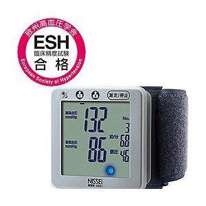 日本精密測器(NISSEI)手首式デジタル血圧計 WSK-1021|tokutokutokiwa