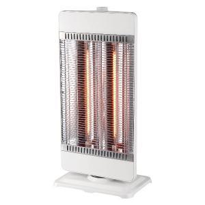 テクノス カーボンヒーター 900W/450W管2灯切替式 ホワイト TEKNOS CHM-4531(W)