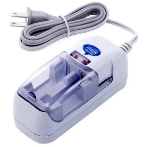 旭電機 アルカリ電池が5〜10回程度充電できます アルカリ乾電池充電器AAC-201 tokutokutokiwa