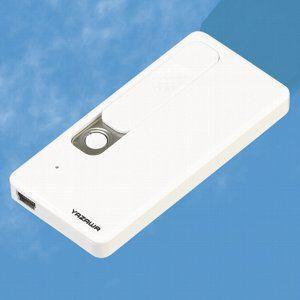 ●本体色:ホワイト ●電源:USB充電式DC5V 500mA ●充電時間:約4時間(1回のフル充電で...