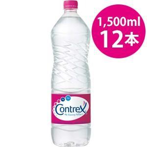 ポッカサッポロフード コントレックス 1.5リットル ペットボトル 正規輸入品 12本セット|tokutokutokiwa