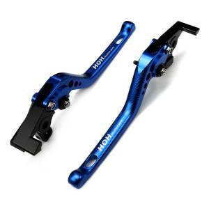 レバーセット(C777F16) アルミ削り出し 青 ヤマハ  XT1200Z スーパーテネレに 3Dタイプ|tokutoyo