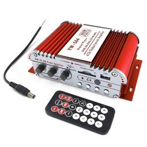 オーディオ アンプ リモコン付 ハイパワー USB/SD等MP3/FM対応(クーポン配布中)|tokutoyo