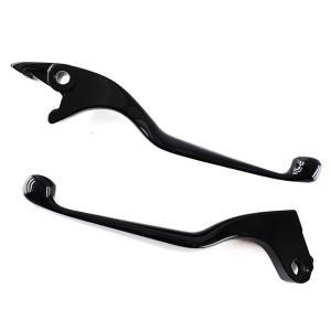 レバー セット 黒 髑髏 シャドウ400、750、CB750-2、CBR750R tokutoyo