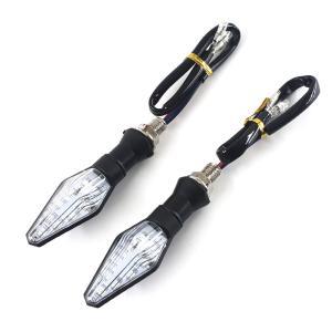 バイク用 12球内蔵 汎用LEDウインカー 12v対応 MZ163 左右セット TOKUTOYO(トクトヨ)|tokutoyo