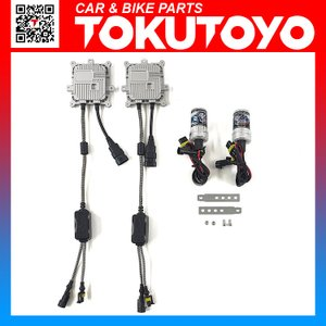 HB3 35W 6000K 12V仕様 アクア NHP10 HIDキット 2灯分 交換用バルブ ヘッドライト フォークランプ等に TOKUTOYO(トクトヨ)|tokutoyo