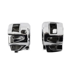 フォルツァ(FORZA)MF08/10 スイッチケース 左右セット 入替え用 メッキ|tokutoyo