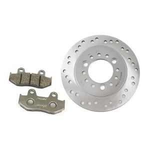 ホンダ リード110 スペイシー125 純正タイプ フロント ディスクローター&ブレーキパッド セット TOKUTOYO(トクトヨ)|tokutoyo