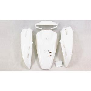 ホンダ スーパーディオ(AF27) 外装カウル 5点セット パールホワイト色 TOKUTOYO(トクトヨ) tokutoyo