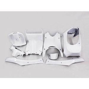 ホンダ ライブディオ(AF34/AF35)2型 インナーカウル 8点セット パールホワイト TOKUTOYO(トクトヨ) tokutoyo