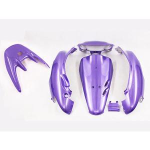 ホンダ ライブディオ/ZX(AF35-2型) 外装カウル 紫色ラベンダー  6点セット TOKUTOYO(トクトヨ) tokutoyo
