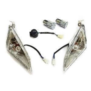 マジェスティ 250 2/C SG03J LED フロント ウインカー (白ポジション機能付) IC...