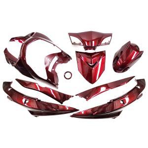 ヤマハ シグナスX SE44J(28S) 外装カウル ワインレッド色 11点セット TOKUTOYO(トクトヨ)|tokutoyo