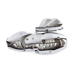 ヤマハ シグナスX125用メッキ クランクケース カバー 3点セット|tokutoyo