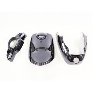 ヤマハ アプリオ(4JP/SA11J) 外装カウル3点セット 黒色ブラック YAMAHA JOG 外装セット|tokutoyo