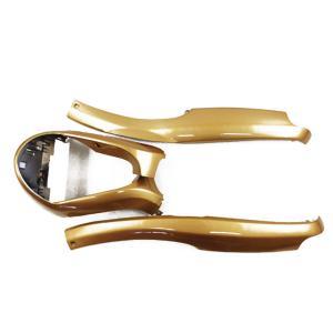 ヤマハ アプリオ/EX/II塗装アンダーモール3点セット 金色ゴールド JOG50 カウル 4JP 4LV SA11J|tokutoyo