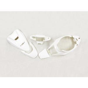 スーパージョグZR JOGZR(3YK)外装 白色(パールホワイト)5点セット ヤマハ YAMAHA 外装カウル|tokutoyo