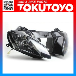 特価 YZF-R6 08-10年 クリア 純正タイプ ヘッドライト ヤマハ 電装|tokutoyo