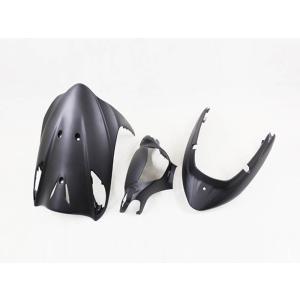 スズキ アドレスV125/G(CF46A/4EA) 外装カウル 3点セット 艶消し黒マット TOKUTOYO(トクトヨ)(クーポン配布中)|tokutoyo
