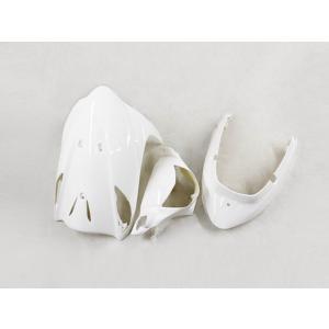 スズキ アドレスV125/G(CF46A/4EA) 外装カウル 3点セット パールホワイト TOKUTOYO(トクトヨ)(クーポン配布中)|tokutoyo