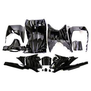 スズキ アドレスV125/G(CF46A/4EA) インナーカウル 塗装済み メタリック黒色 12点セット TOKUTOYO(トクトヨ)|tokutoyo