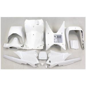 スズキ アドレスV125/G(CF46A/4EA) インナーカウル 12点セット 塗装済み パールホワイト TOKUTOYO(トクトヨ)(クーポン配布中)|tokutoyo