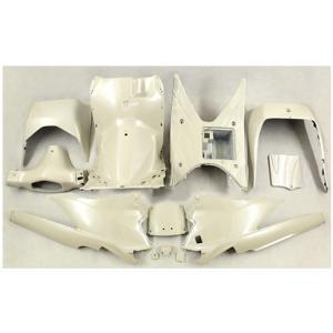 スズキ アドレスV125/G(CF46A/4EA) インナーカウル 12点セット 塗装済み ベージュ色 TOKUTOYO(トクトヨ)(クーポン配布中)|tokutoyo