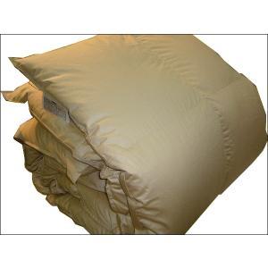 羽毛掛けふとん ハンガリー産 マザーホワイトダウン93% セミダブル 170×210cm|tokuyama