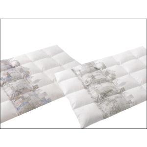 マンハッタナーズ 羽毛掛けふとん 凝縮猫マンハッタン図 シングル 150×210cm|tokuyama