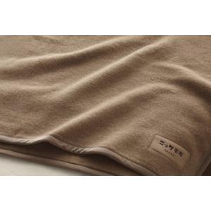 ニッケ キャメル100% 毛布 シングル 140×200cm CAML00808 日本製|tokuyama