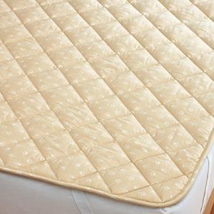 西川リビング ウールベッドパッド [TFP57] シングル 100×200cm 日本製 ベッドでの寝...