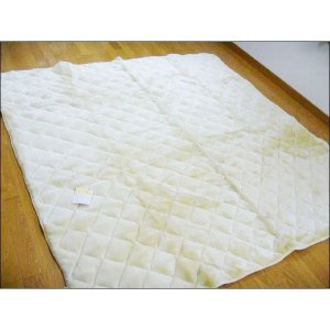 激安 アンゴラタッチ コタツ敷きふとん (ムートン調) 正方形 200×200cm|tokuyama