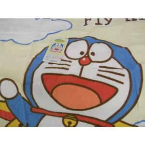 ドラえもん お昼寝 タオルケット ジュニア  110×150cm|tokuyama