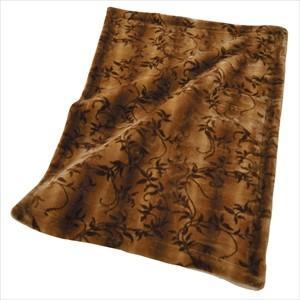内外毛織 獣毛調 高級掛け毛布 シングル 140×200cm YO-45013 日本製|tokuyama