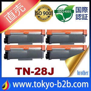 tn-28j tn28j ( トナー28J ) ブラザー TN-28J ( 4本セット) brother L2365DW L2360DN L2320D L2520D L2540DW L2720DN 2740DW L2700DN 汎用トナー