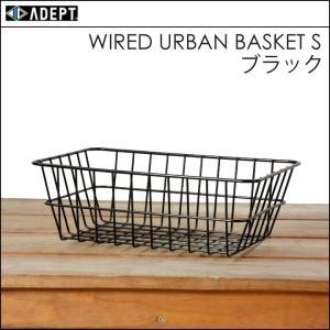 自転車 カゴ バスケット ADEPT ワイヤード アーバン バスケット WIRED URBAN BASKET S ブラック BKT08600 アデプト|tokyo-depo